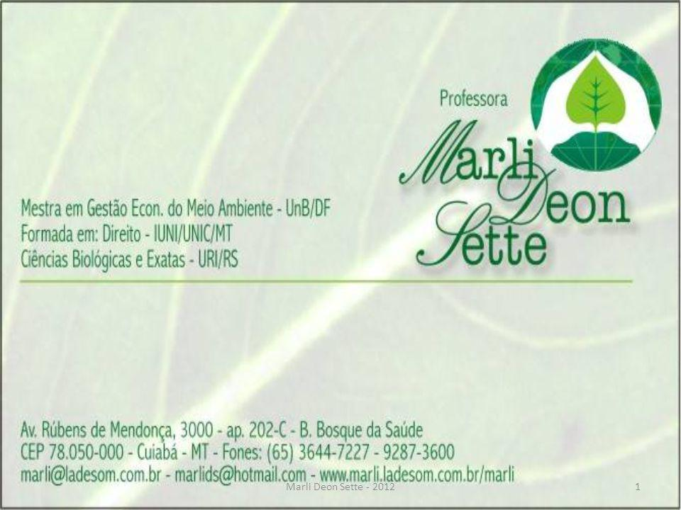 Marli Deon Sette - 2012