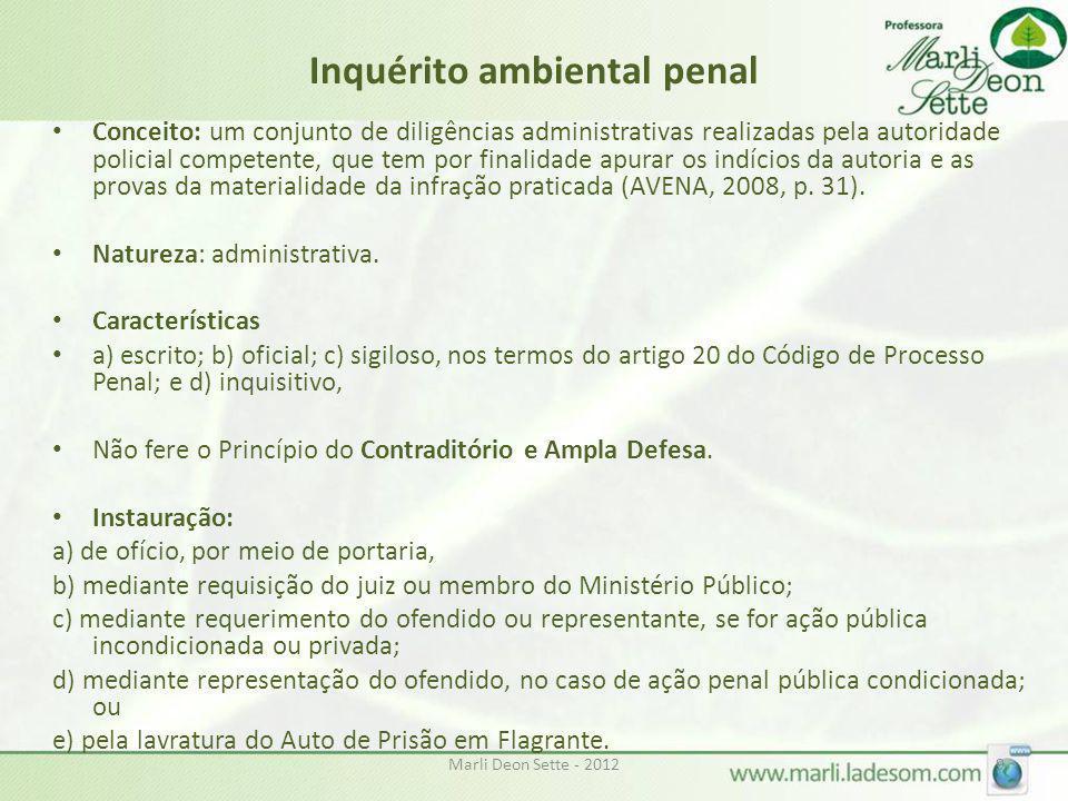 Inquérito ambiental penal