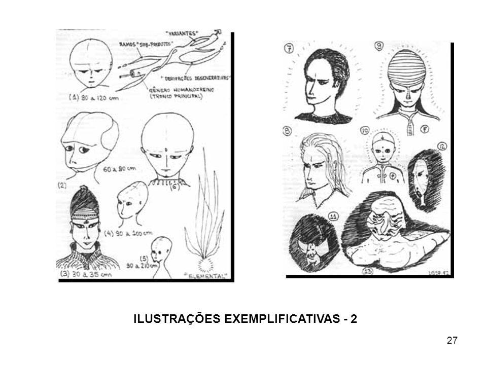 ILUSTRAÇÕES EXEMPLIFICATIVAS - 2