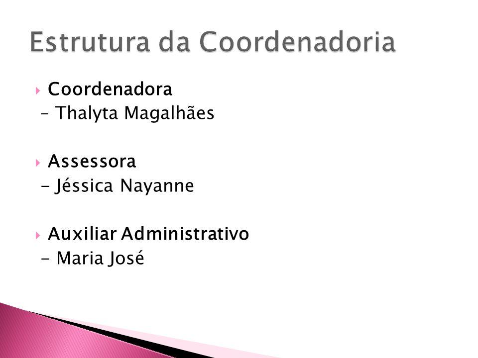 Estrutura da Coordenadoria