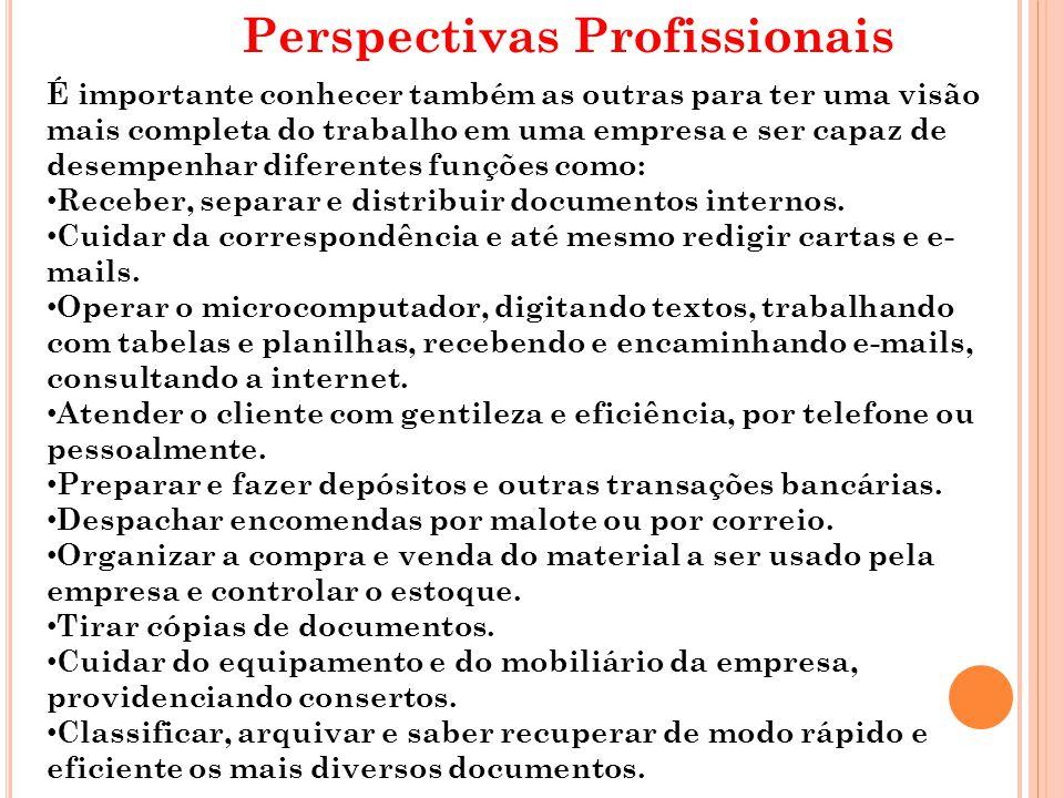 Perspectivas Profissionais
