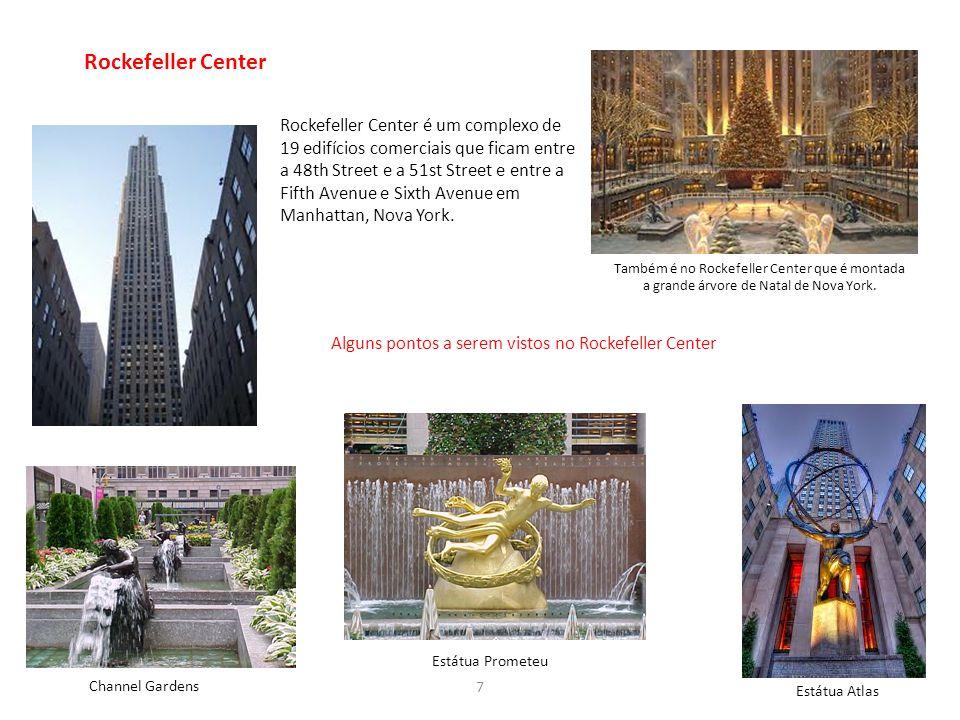 Rockefeller Center Estátua Prometeu