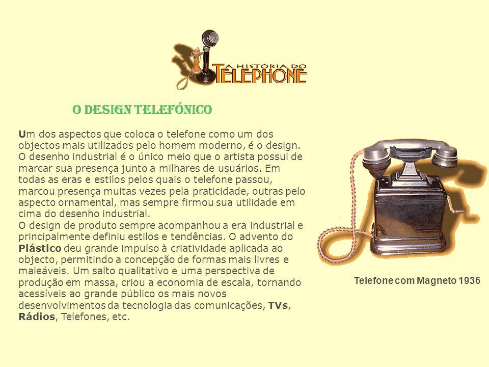 O Design Telefónico
