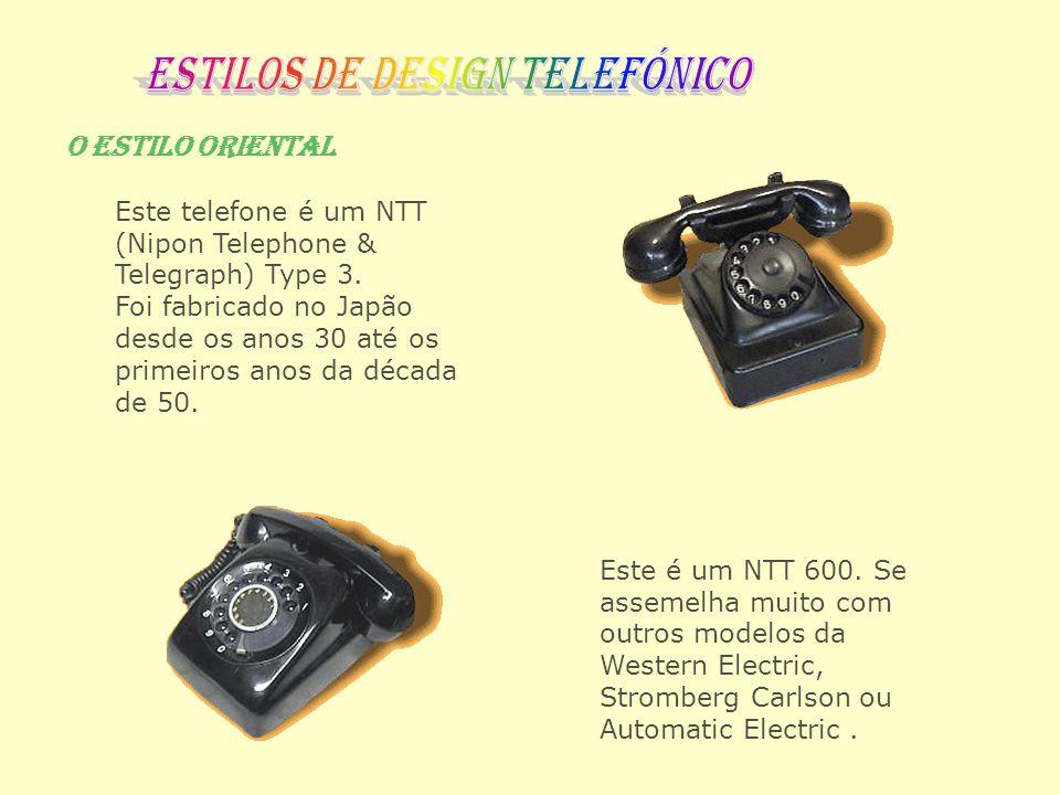 Estilos de design telefónico