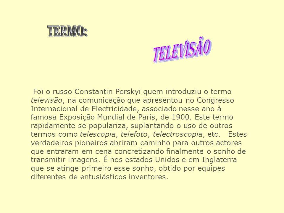 TERMO: TELEVISÃO.