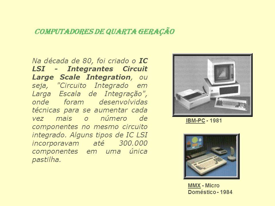 Computadores de Quarta Geração