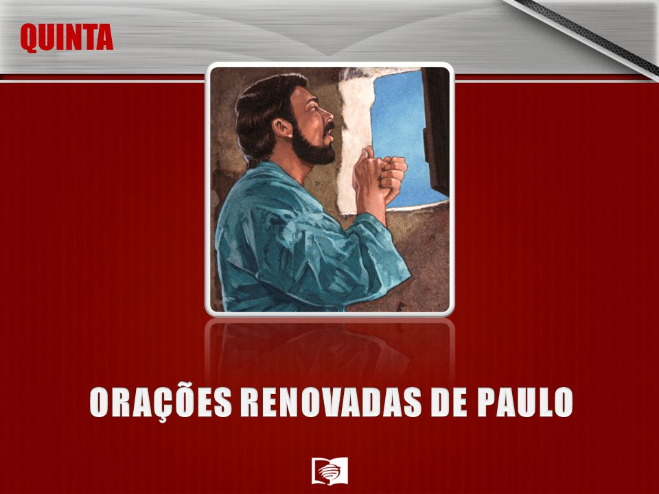 ORAÇÕES RENOVADAS DE PAULO