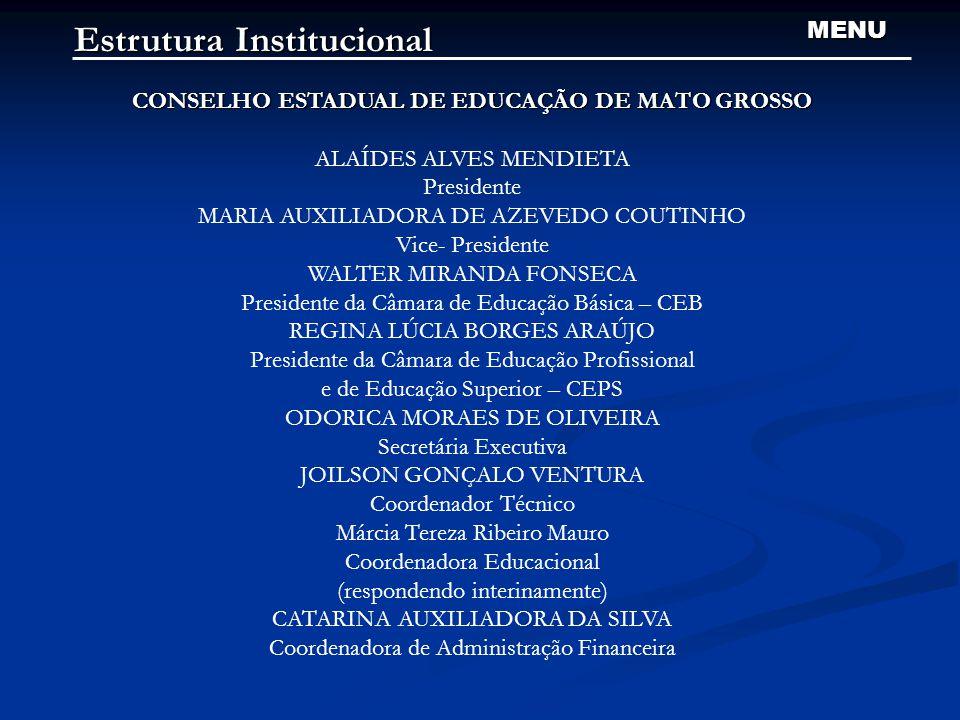 CONSELHO ESTADUAL DE EDUCAÇÃO DE MATO GROSSO