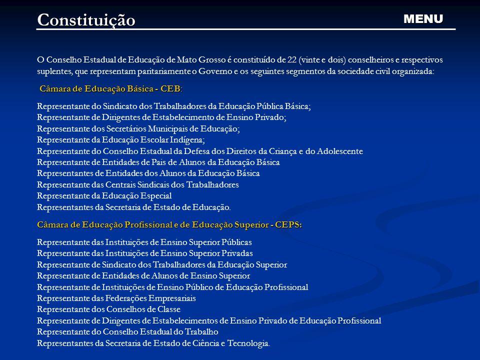 Constituição MENU.