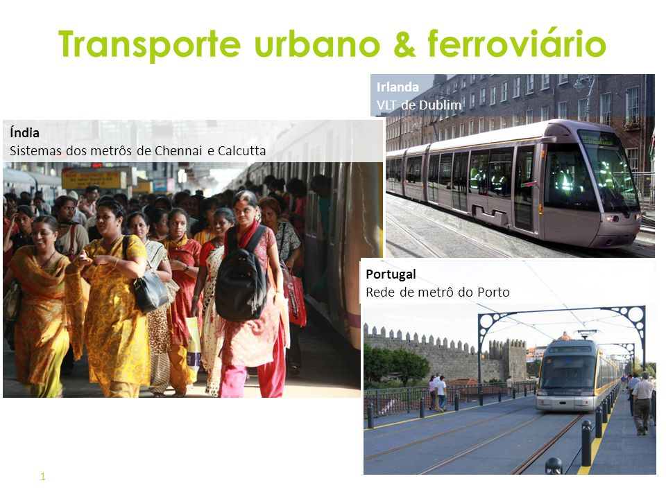 Transporte urbano & ferroviário