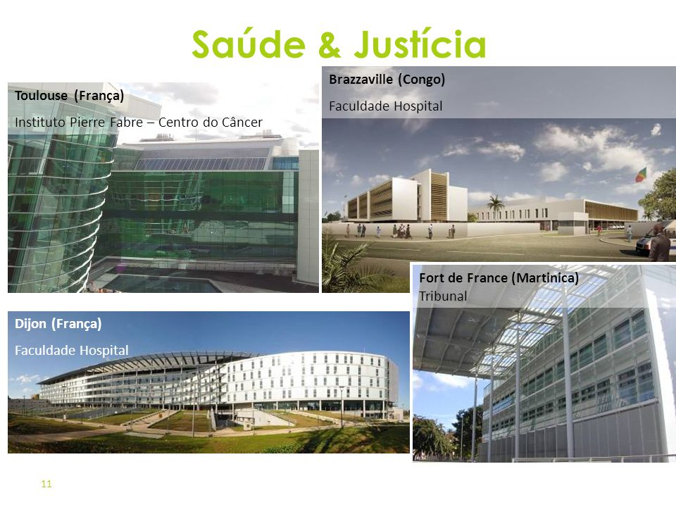 Saúde & Justícia Brazzaville (Congo) Faculdade Hospital