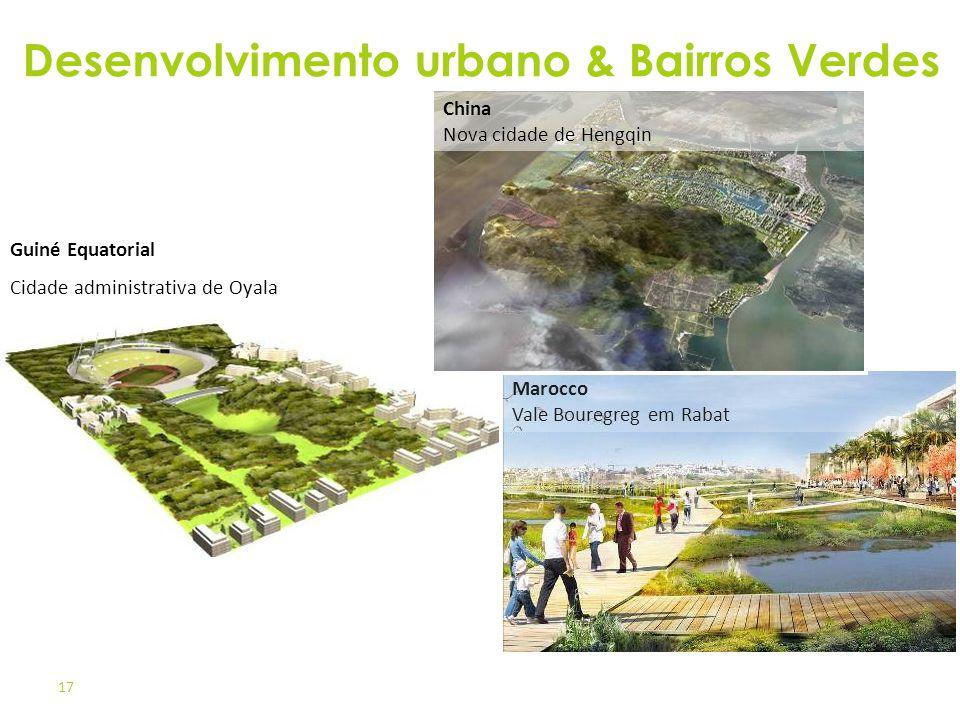 Desenvolvimento urbano & Bairros Verdes