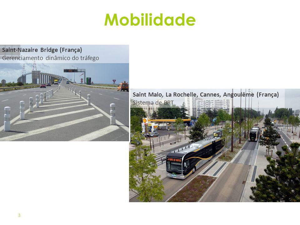 Mobilidade Saint-Nazaire Bridge (França) Gerenciamento dinâmico do tráfego.