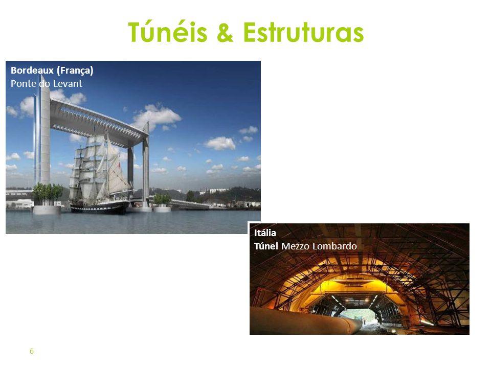 Túnéis & Estruturas Bordeaux (França) Ponte do Levant