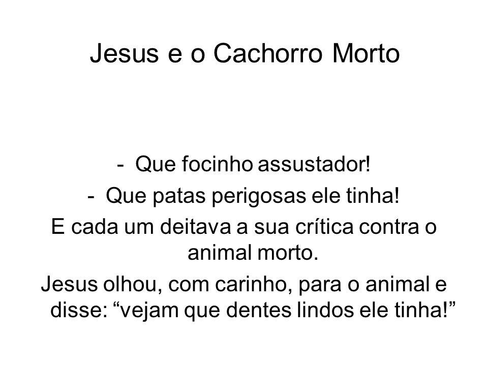 Jesus e o Cachorro Morto