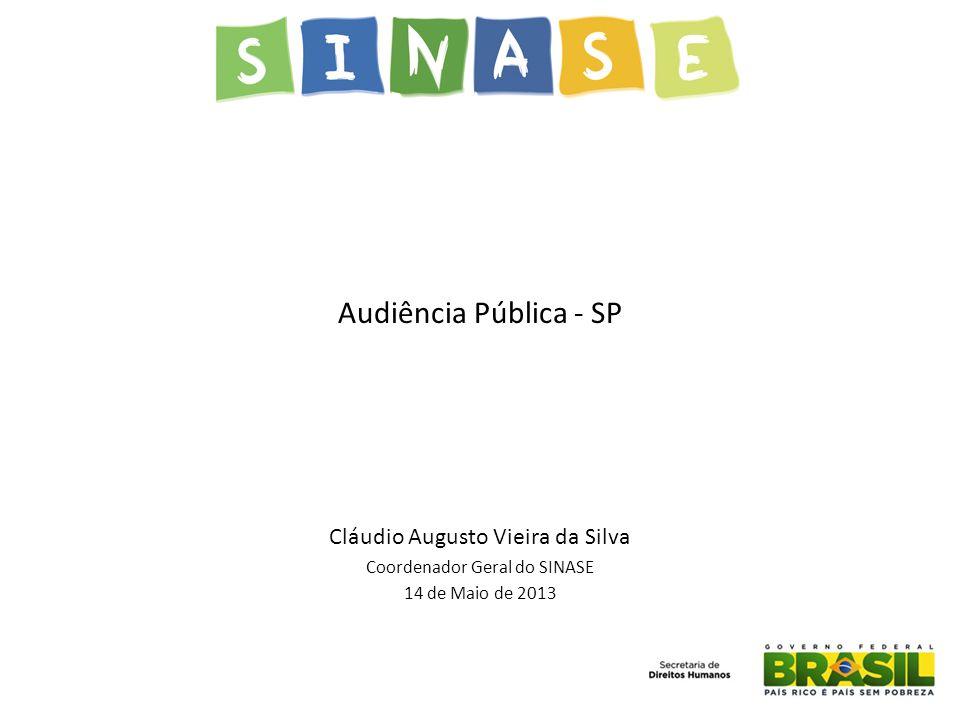 Audiência Pública - SP Cláudio Augusto Vieira da Silva