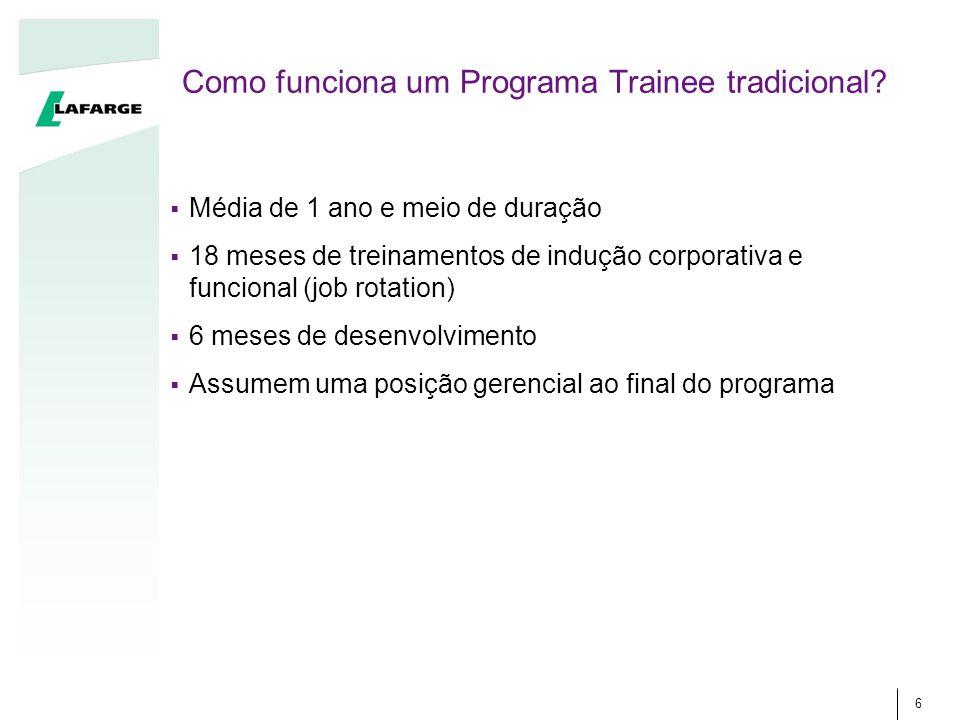 Como funciona um Programa Trainee tradicional