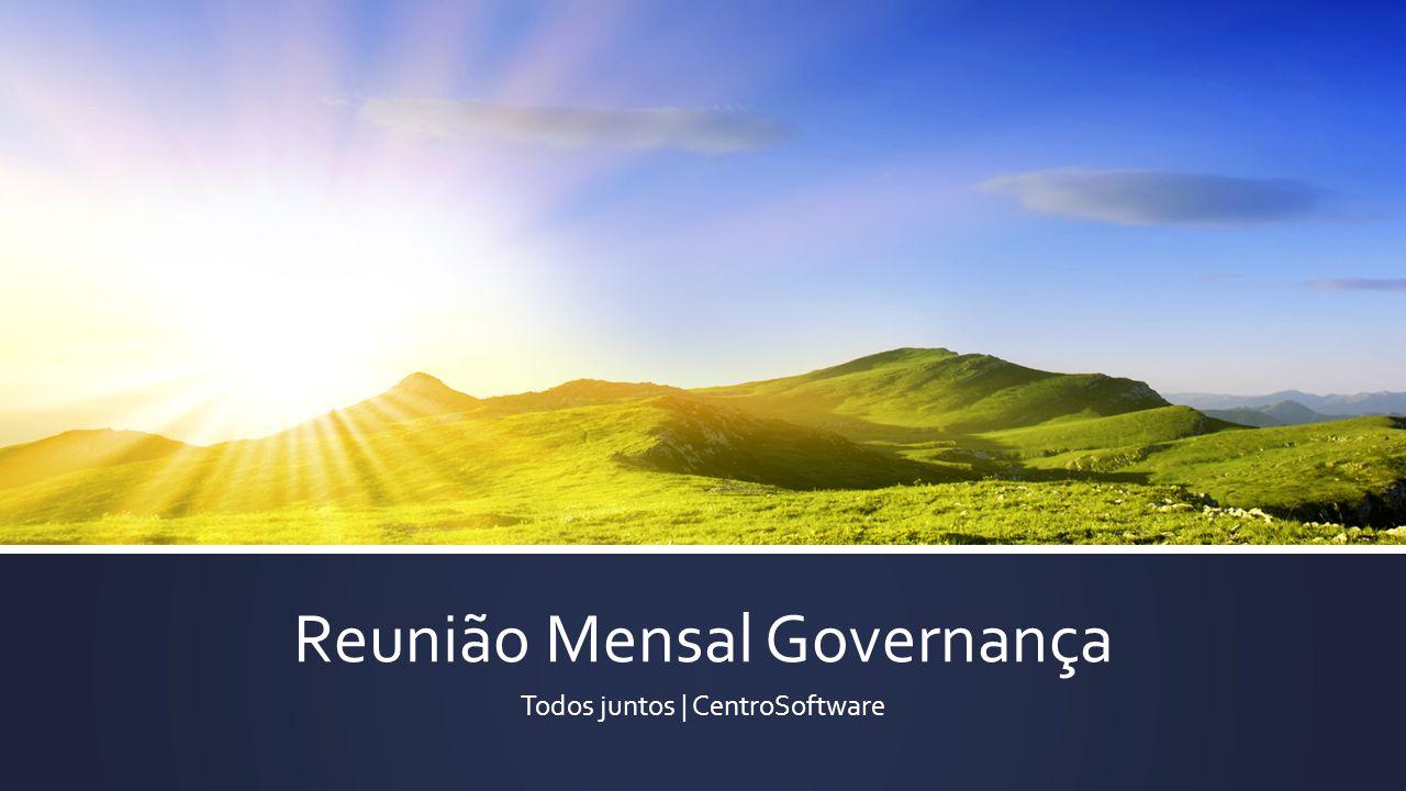 Reunião Mensal Governança