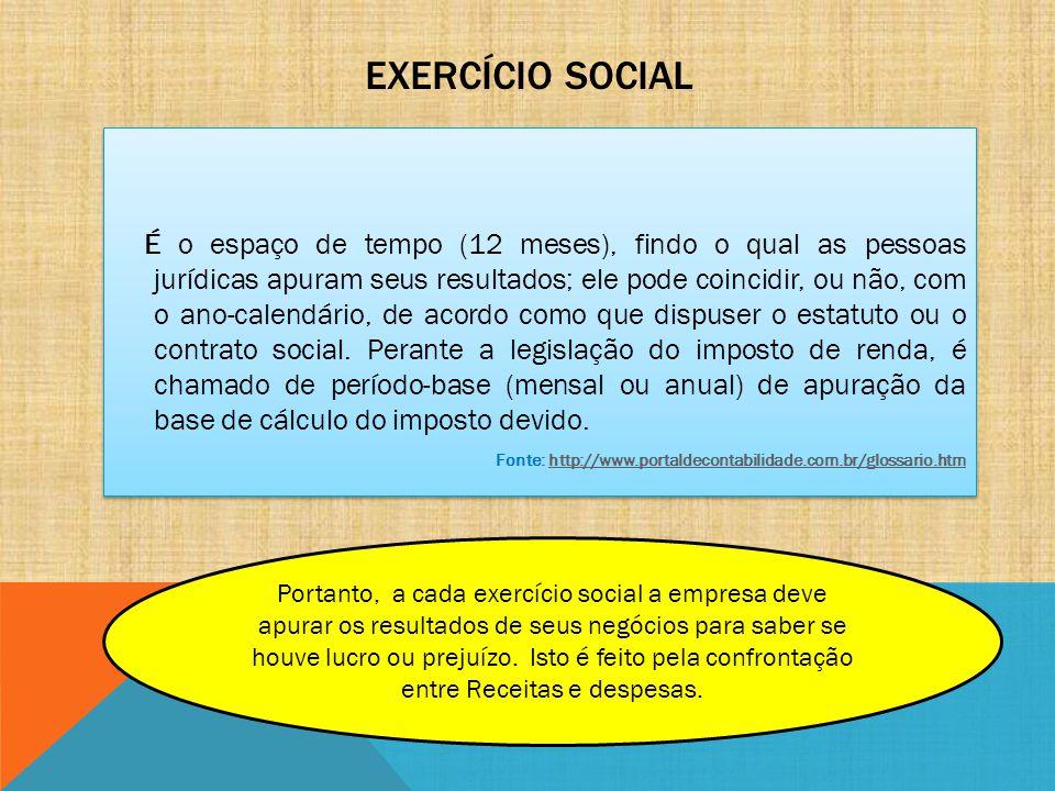 Exercício Social