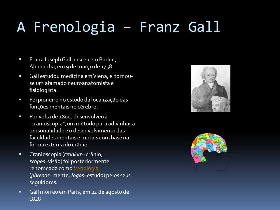 A Frenologia – Franz Gall