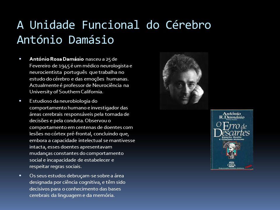 A Unidade Funcional do Cérebro António Damásio