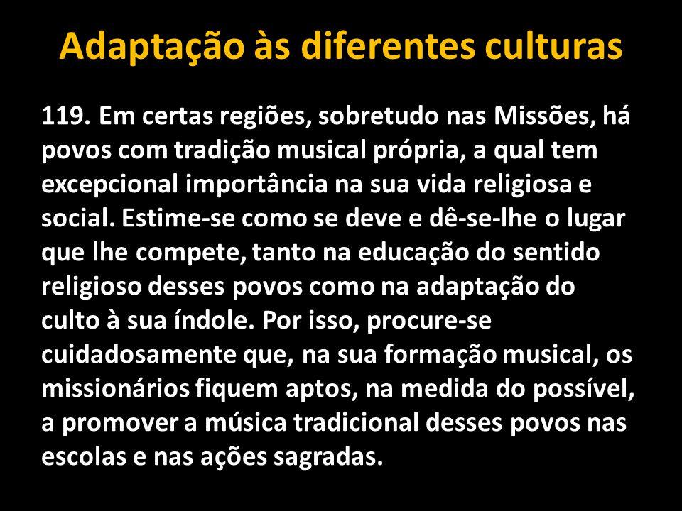 Adaptação às diferentes culturas