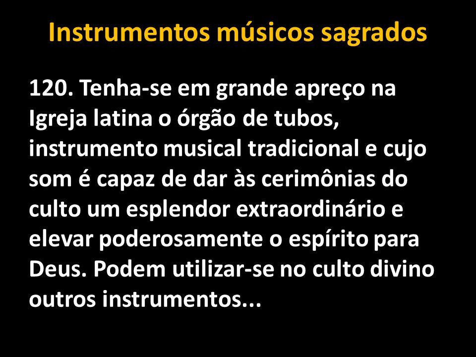 Instrumentos músicos sagrados