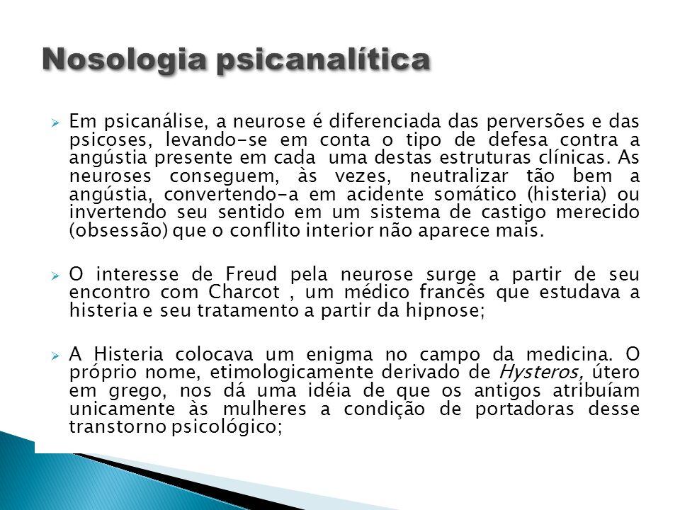Nosologia psicanalítica