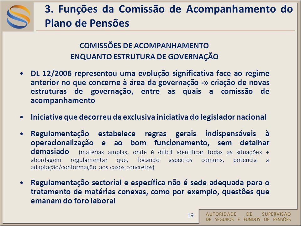 COMISSÕES DE ACOMPANHAMENTO ENQUANTO ESTRUTURA DE GOVERNAÇÃO