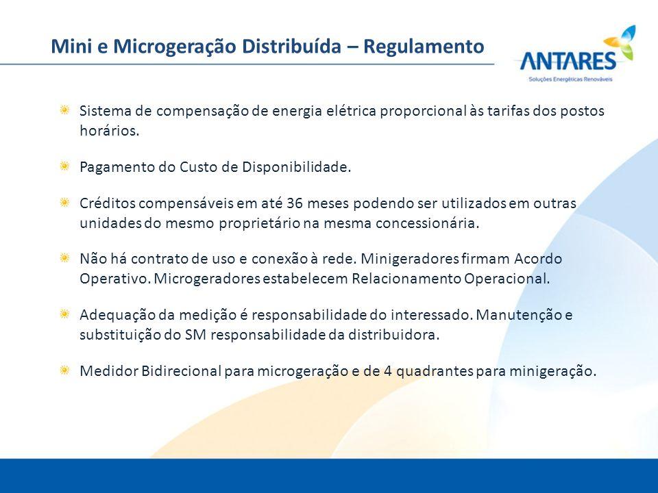 Mini e Microgeração Distribuída – Regulamento