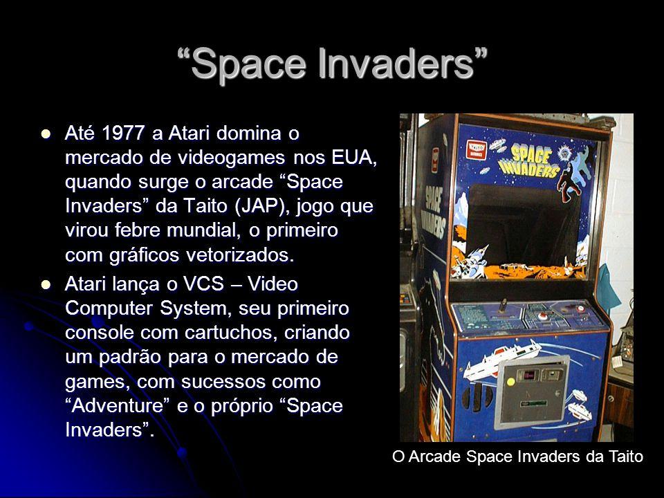 O Arcade Space Invaders da Taito