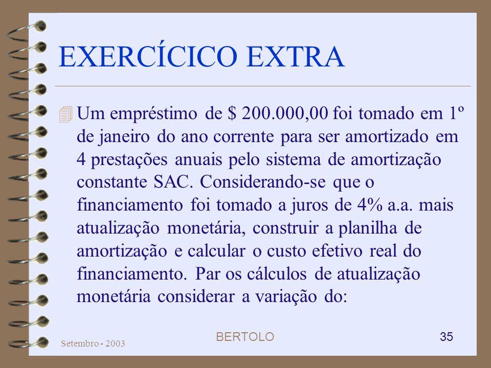 EXERCÍCICO EXTRA