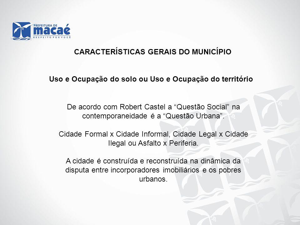 CARACTERÍSTICAS GERAIS DO MUNICÍPIO
