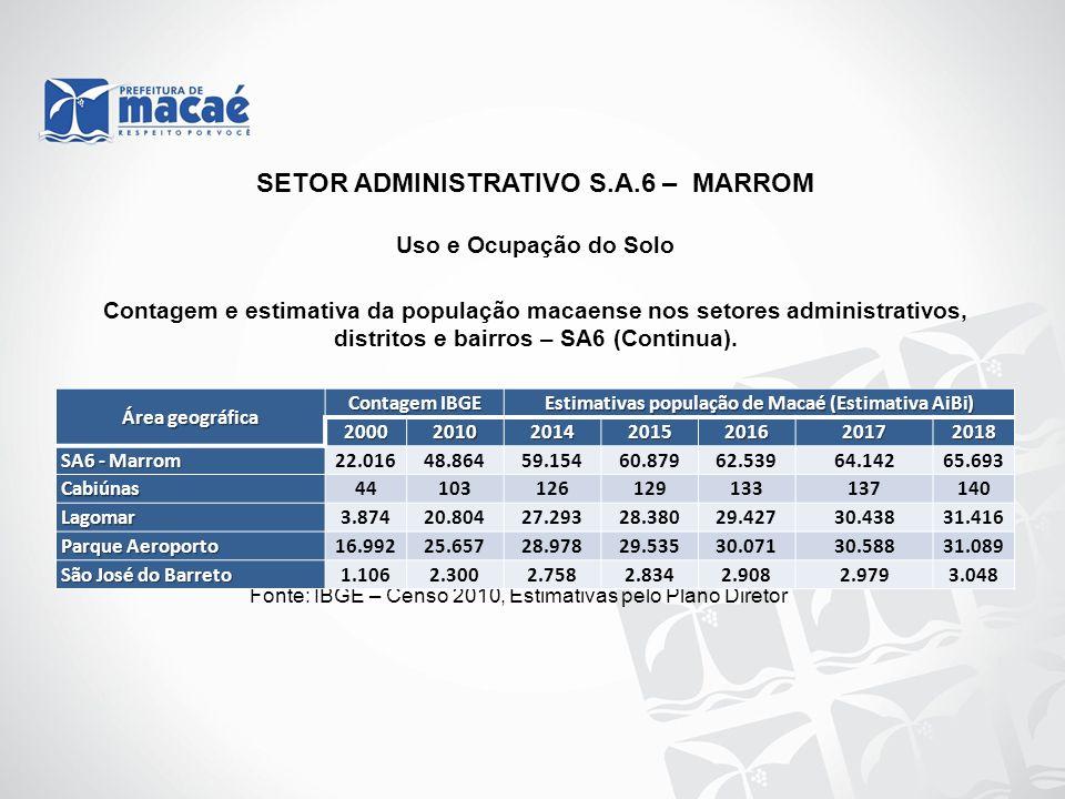 SETOR ADMINISTRATIVO S.A.6 – MARROM