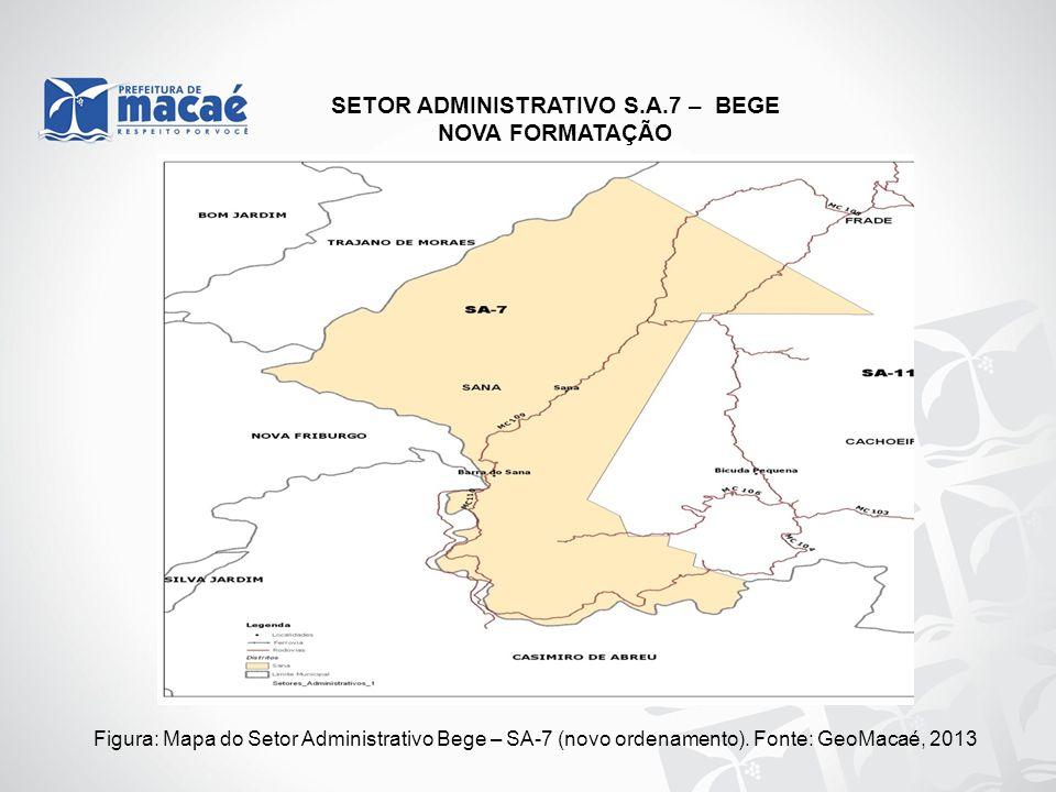 SETOR ADMINISTRATIVO S.A.7 – BEGE