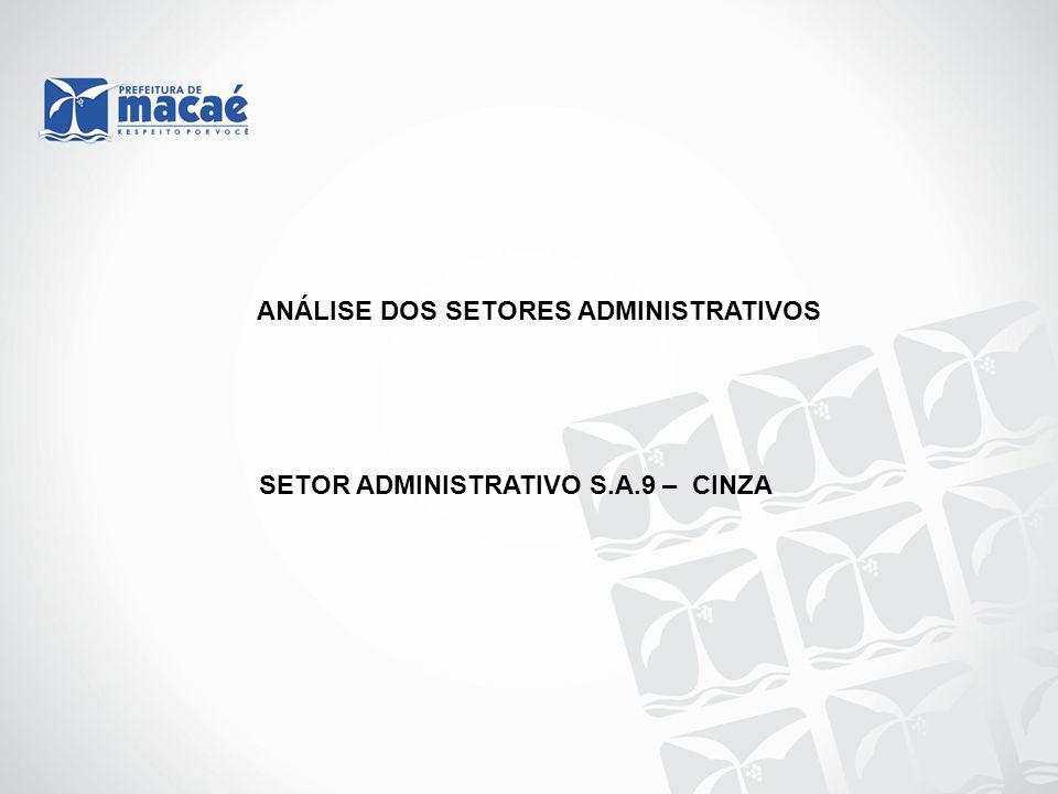 SETOR ADMINISTRATIVO S.A.9 – CINZA