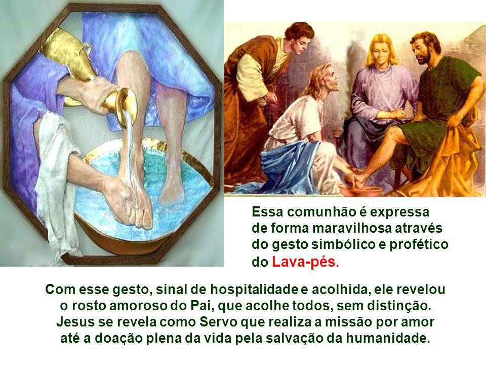 Jesus se revela como Servo que realiza a missão por amor