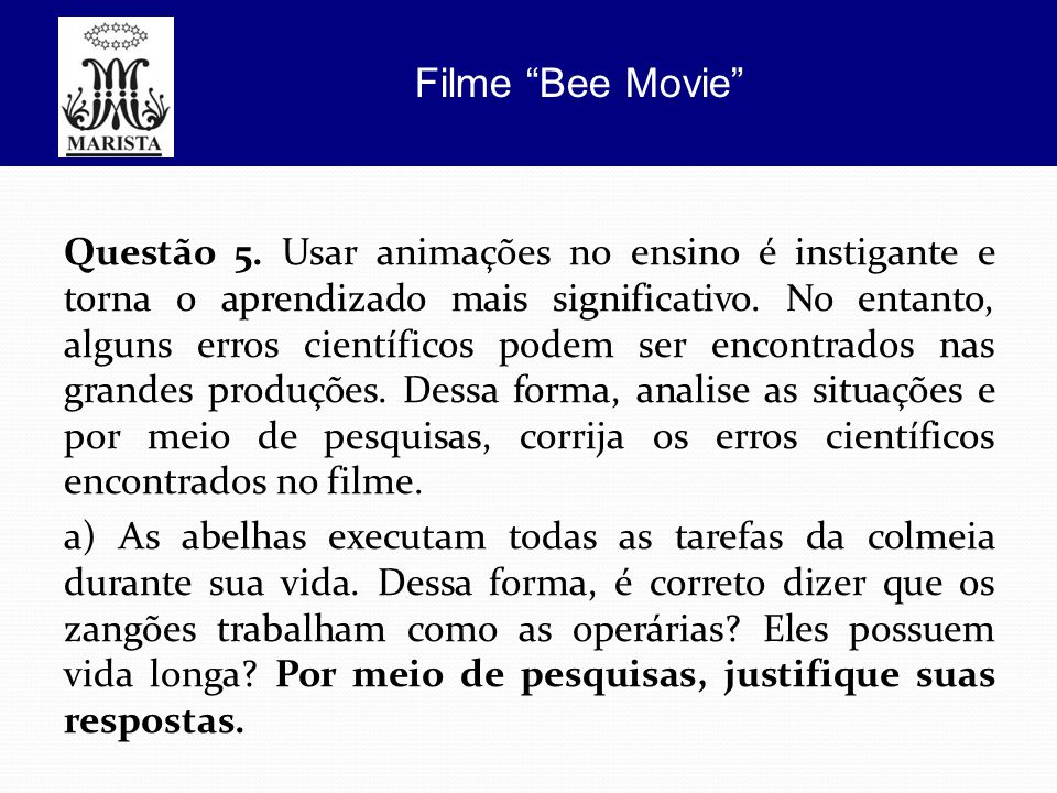 Filme Bee Movie