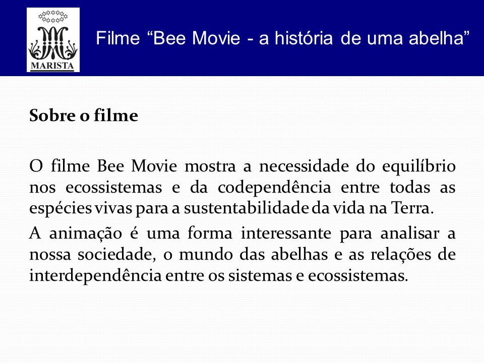 Filme Bee Movie - a história de uma abelha