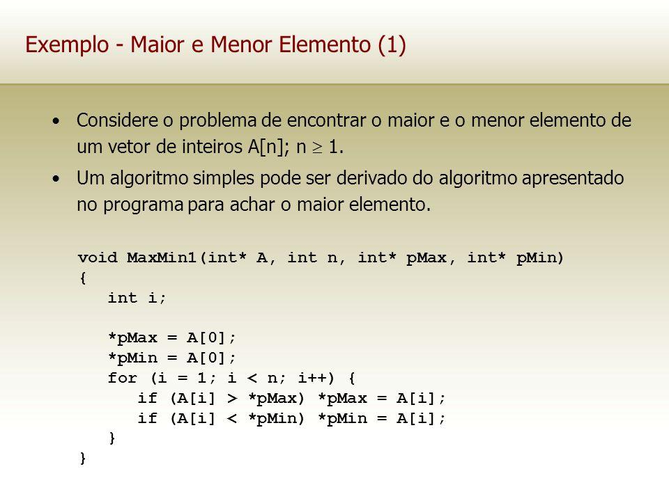 Exemplo - Maior e Menor Elemento (1)