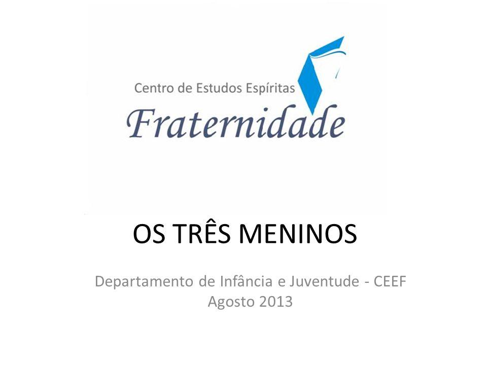 Departamento de Infância e Juventude - CEEF Agosto 2013