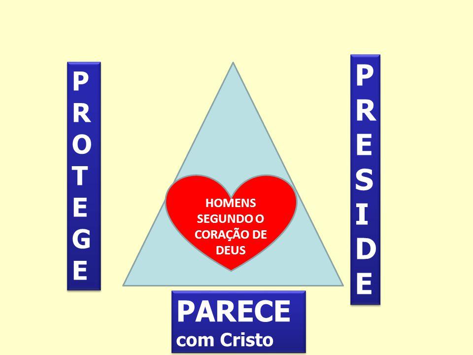 PRESIDE PROTEGE HOMENS SEGUNDO O CORAÇÃO DE DEUS PARECE com Cristo