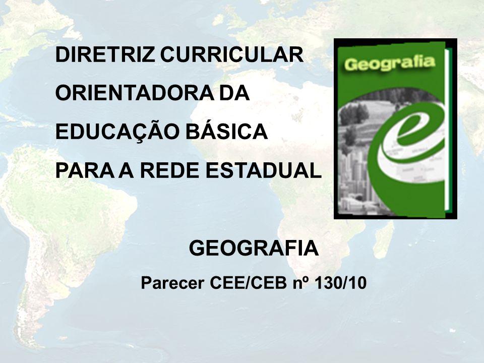 DIRETRIZ CURRICULAR ORIENTADORA DA EDUCAÇÃO BÁSICA