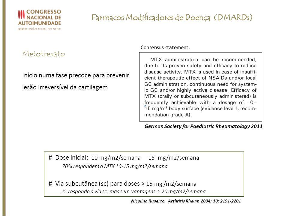 Fármacos Modificadores de Doença (DMARDs)