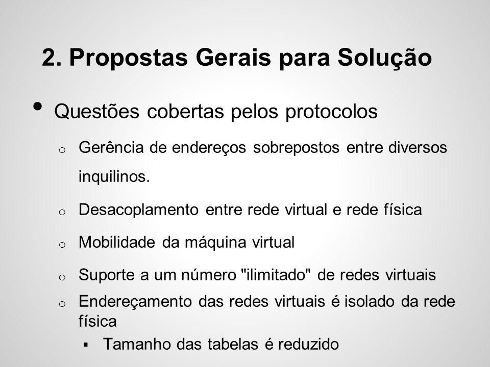 2. Propostas Gerais para Solução