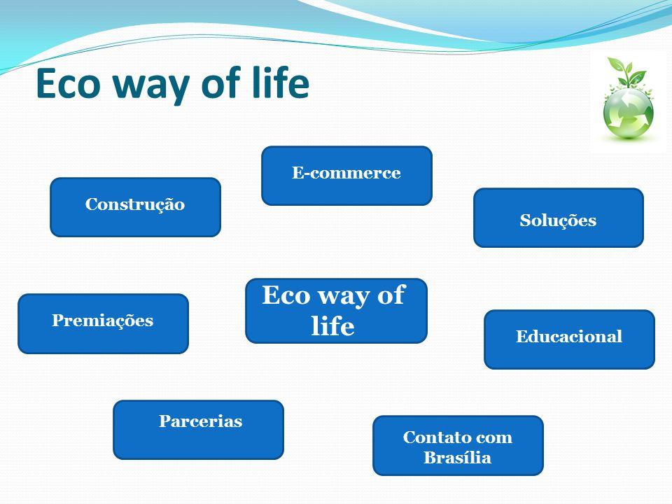 Eco way of life Eco way of life E-commerce Construção Soluções