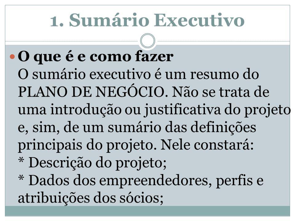 1. Sumário Executivo