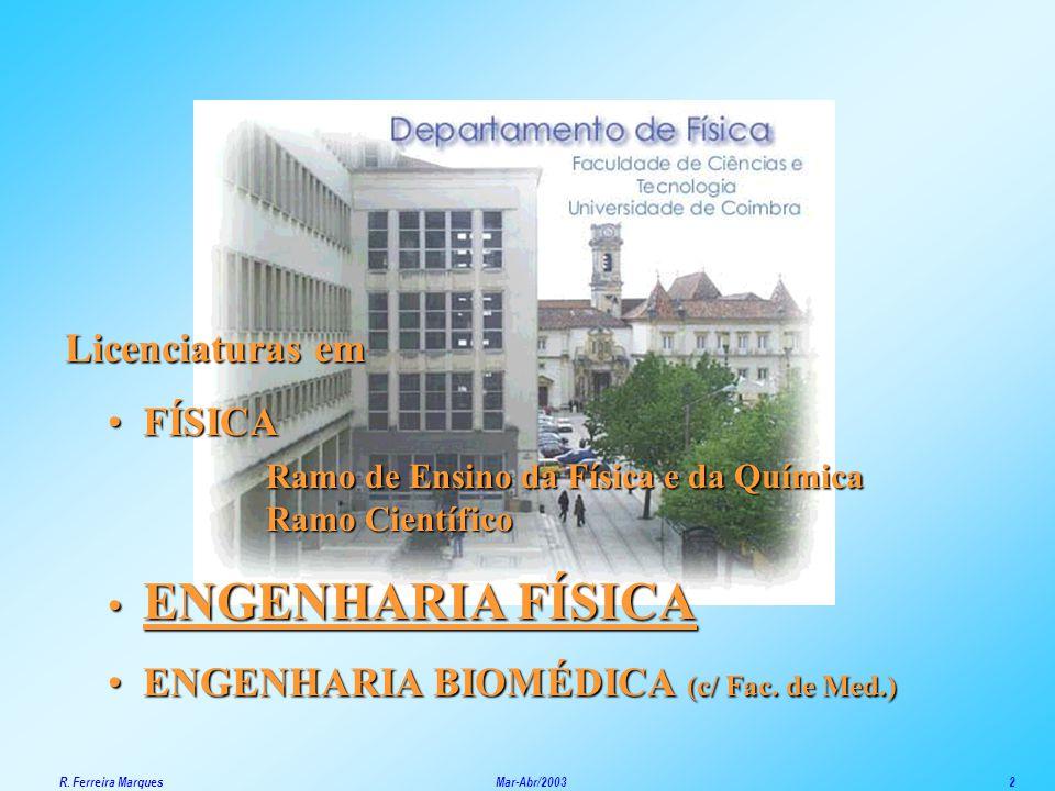 ENGENHARIA BIOMÉDICA (c/ Fac. de Med.)