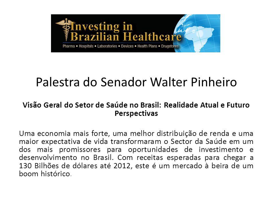 Palestra do Senador Walter Pinheiro
