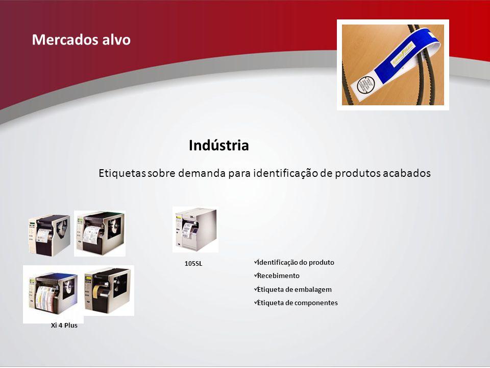Mercados alvo Indústria
